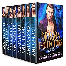 Dragon Protectors (8 Book Boxed Set)
